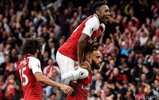 Арсенал вырвал невероятную победу в первом матче нового сезона чемпионата Англии