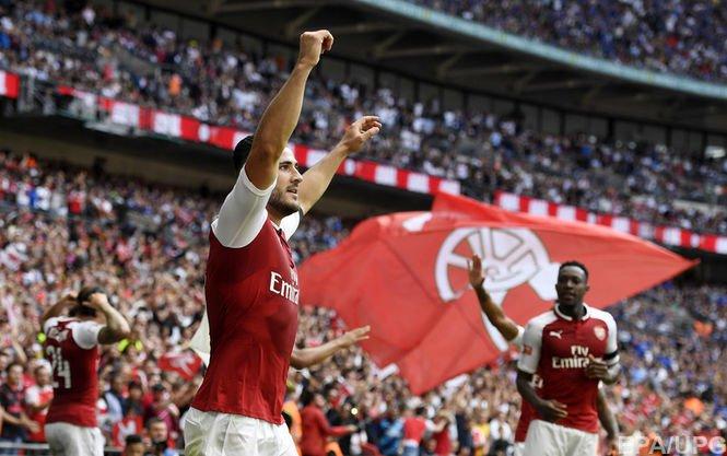 Арсенал выиграл Суперкубок Англии в противостоянии с Челси