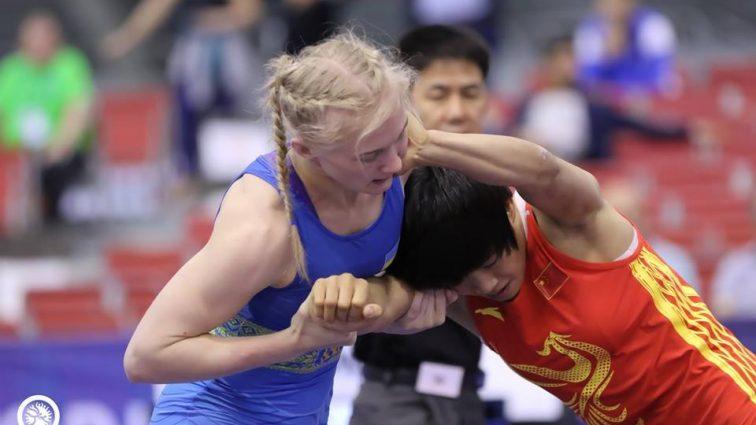 Львовянка Кристина Береза — серебряный призер юниорского ЧМ-2017 по борьбе