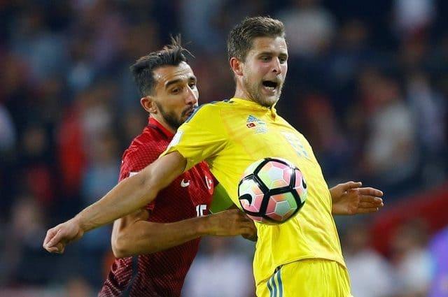 Сборная Украины опустилась на две позиции в рейтинге ФИФА