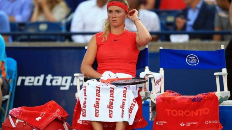 Матч лучшей теннисистки Украины был прерван из-за дождя