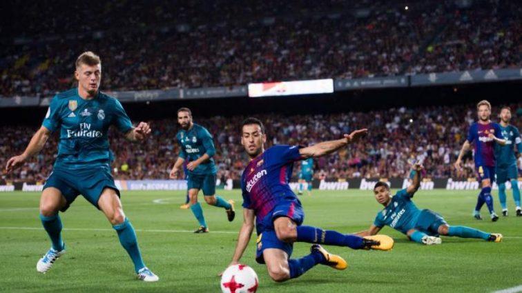 Реал в меньшинстве победил Барселону в матче за Суперкубок Испании