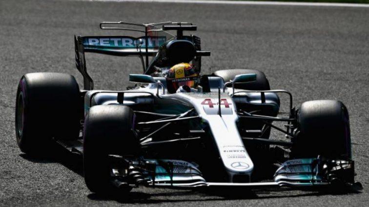 Формула-1: Хэмильтон выиграл квалификацию Гран-при Бельгии