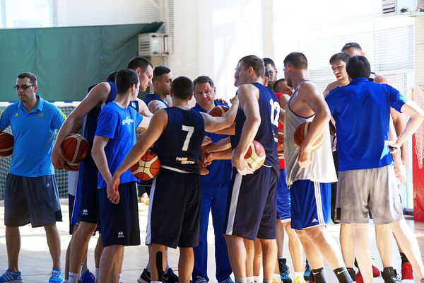 Сборная Украины по баскетболу сыграет на международном турнире в Греции