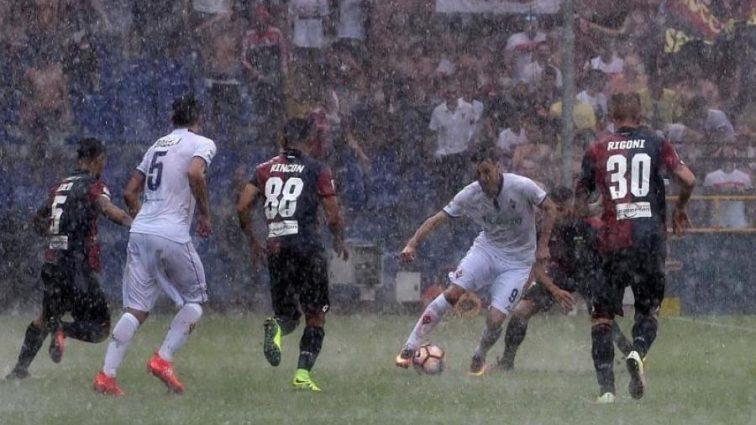 Четыре футбольных поединки чемпионата Италии под угрозой срыва