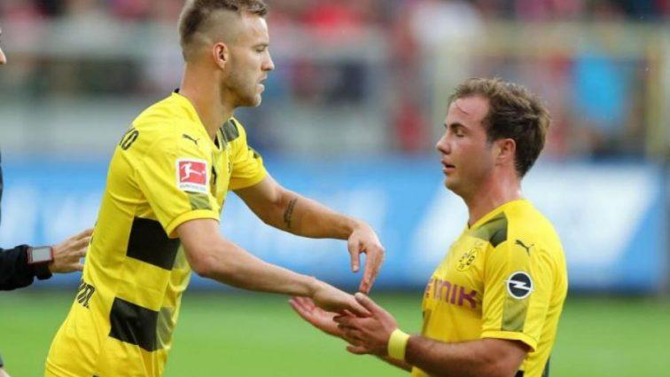 Тренер немецкого клуба прокомментировал дебют Ярмоленко как центрфорварда