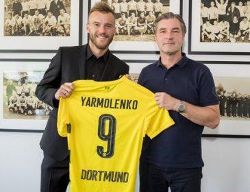 Ярмоленко попал в символическую сборную чемпионата Германии, не сыграв ни одного матча