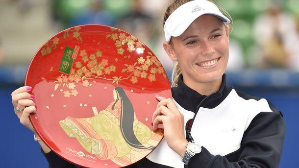 Каролин Возняцки выиграла титул после шести поражений в финалах