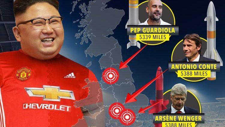 Северокорейский диктатор оказался болельщиком топ-клуба Англии