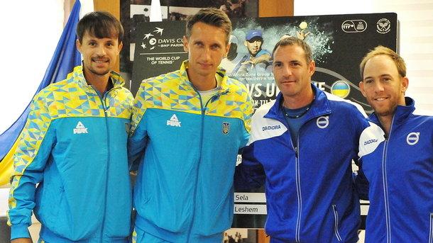 Сборная Украины обыграла Израиль в Кубке Дэвиса