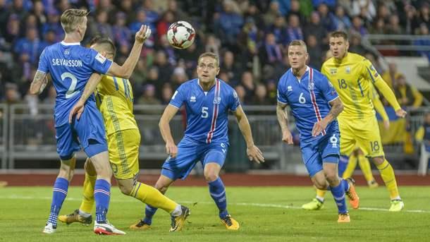 Украина поднялась на три места в рейтинге ФИФА