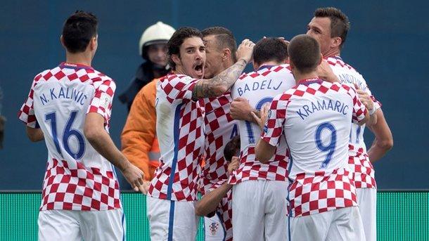 Сборная Хорватии огласила заявку на матч против Украины в отборе на ЧМ-2018