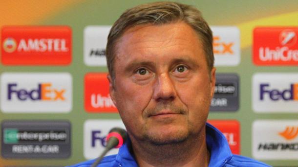Хацкевич: «Что я сказал игрокам в перерыве матча? Лучше вам этого не знать»