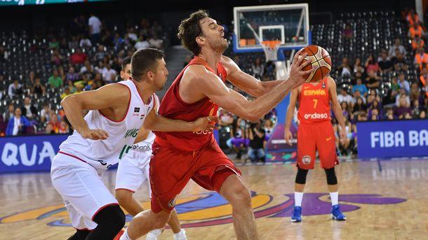 По Газоль стал самым результативным баскетболистом в истории чемпионатов Европы
