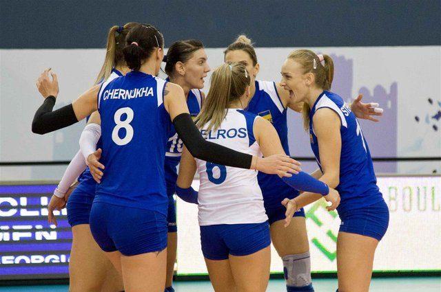 Украинские волейболистки проиграли Болгарии на чемпионате Европы