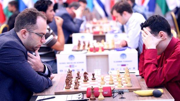 Трое украинских шахматистов вылетели из Кубка мира