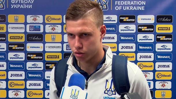 Лучшим молодым футболистом месяца в Украине стал Николай Матвиенко