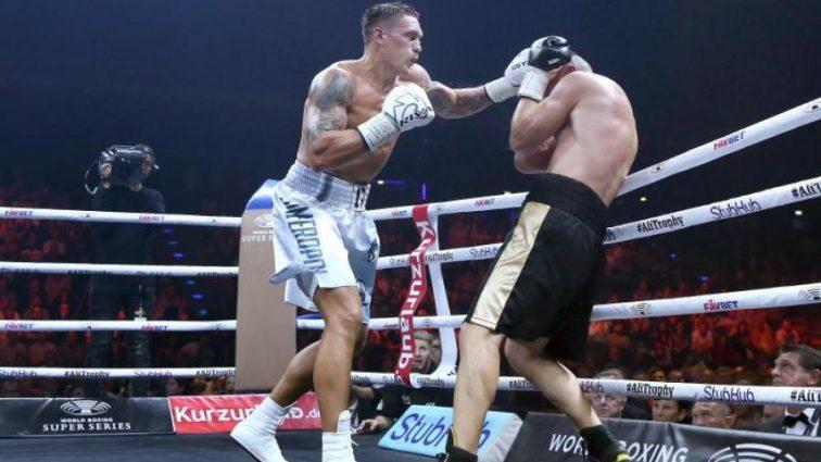 Усик вразив організаторів Всесвітньої боксерської суперсерії