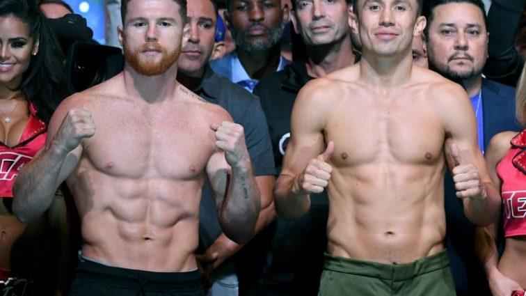 Головкин — Альварес: Боксеры прошли процедуру взвешивания