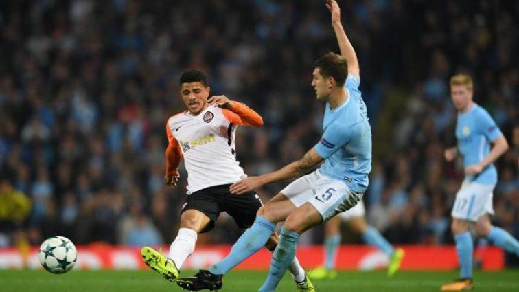 Защитник Манчестер Сити поражен игрой Шахтера
