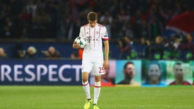 Бавария потерпела самое крупное поражение в еврокубках за последние 16 лет