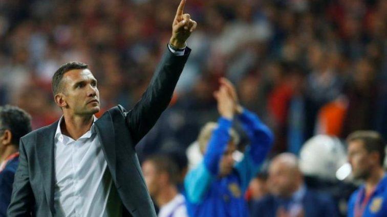 Главный тренер сборной Украины отметился голом в благотворительном матче