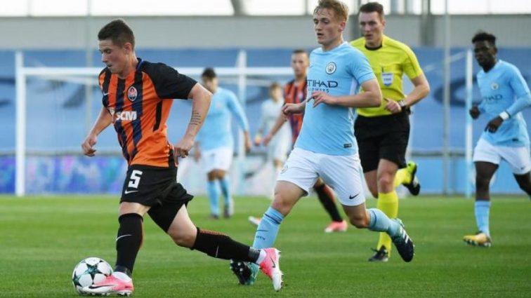 Молодежь Шахтера уступила Манчестер Сити в юношеском еврокубке