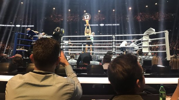 Александр Усик встретится с Майрисом Бриедисом в полуфинале Всемирной боксерской суперсерии