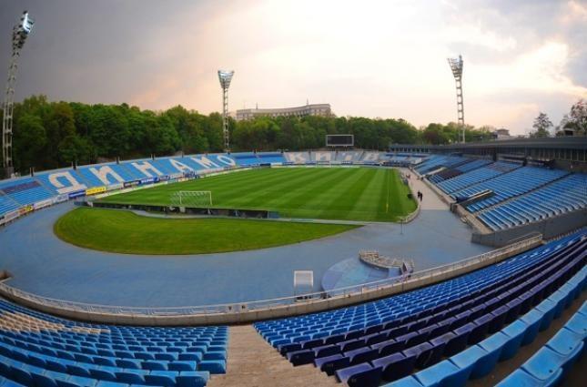 Почти пустой стадион «Динамо» перед матчем УПЛ (ФОТО)