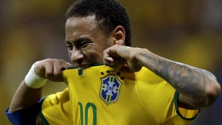 Неймар оставил тренировки сборной Бразилии