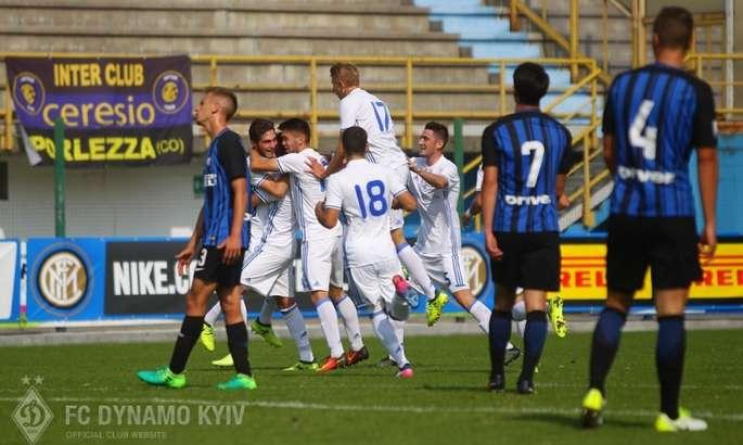 «Динамо» крупно проиграло «Интеру» и вылетело из Юношеской Лиги чемпионов