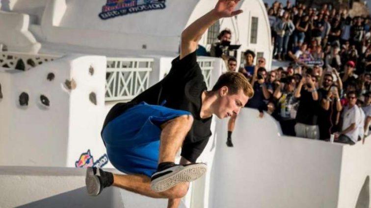 Украинский спортсмен сенсационно выиграл чемпионат мира по паркуру