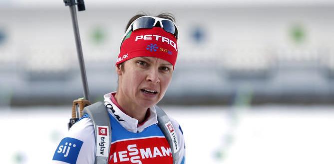 Призер Олимпиады по биатлону попалась на допинге