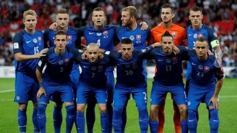 Сборная Словакии по футболу назвала состав на матч с Украиной