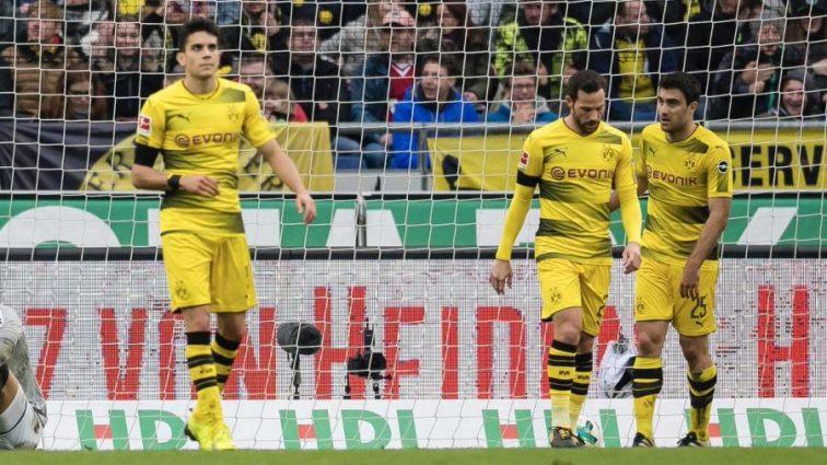 Чемпионат Германии: Байер одолел Кельн, гол Ярмоленко не помог Боруссии в матче с Ганновером
