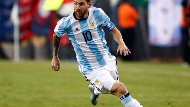 Лионель Месси вывел сборную Аргентины на ЧМ-2018