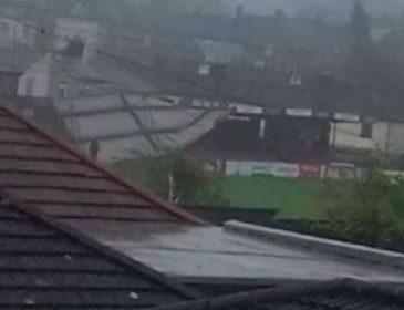 Из-за непогоды стадион футбольного клуба остался без крыши