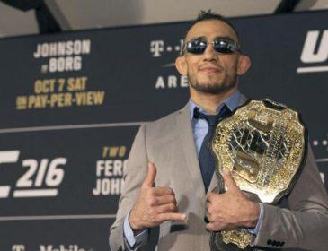 Чемпион UFC получил черный пояс по бразильскому джиу-джитсу