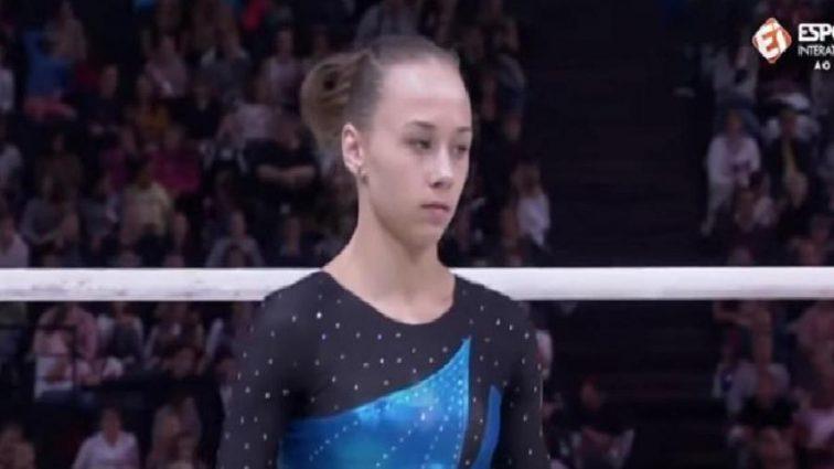 Украинская гимнастка сенсационно вышла в два финала чемпионата мира