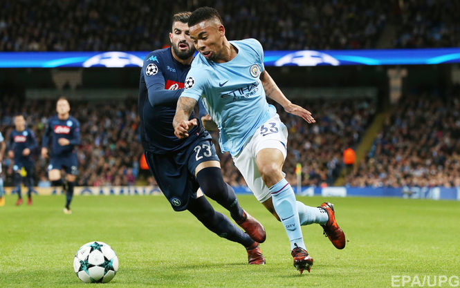 Наполи — Манчестер Сити 2:4 Видео голов и обзор матча