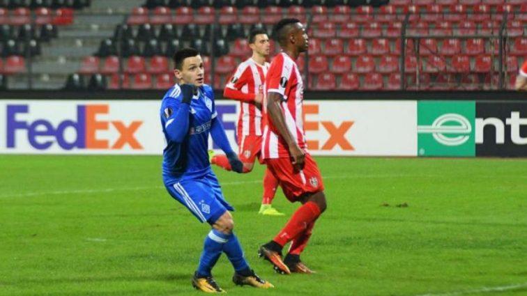 Форвард Динамо рассказал о своем дебюте в Лиге Европы