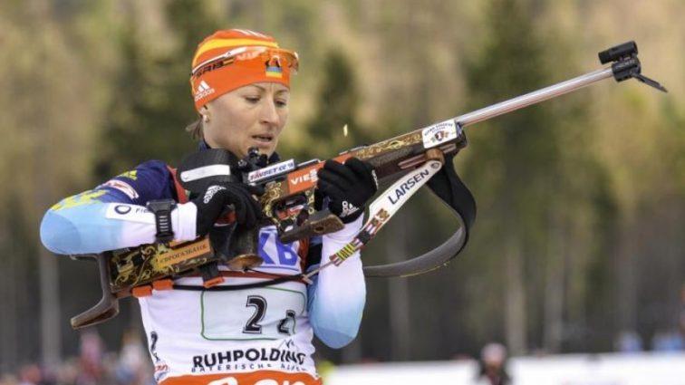 Украинская биатлонистка получит серебро Олимпиады-2012 из-за допинга россиянки