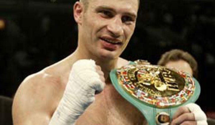 Виталий Кличко вошел в ТОП-10 чемпионов всех времен