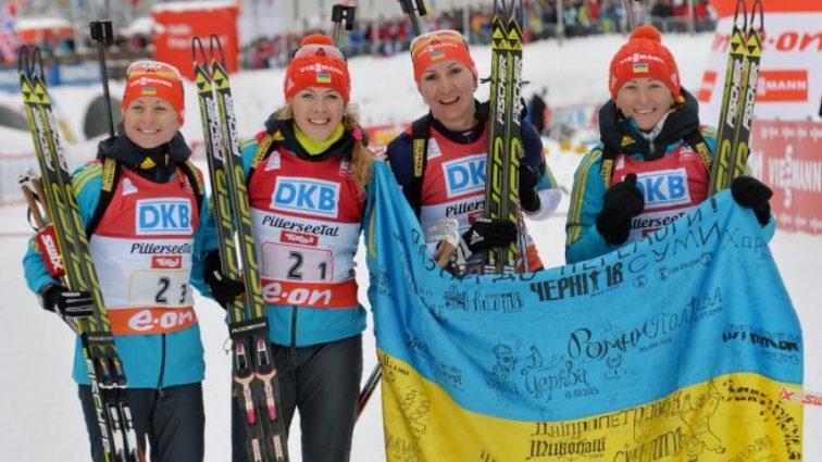 Три украинские биатлонистки попали в топ-10 на Кубке Норвегии