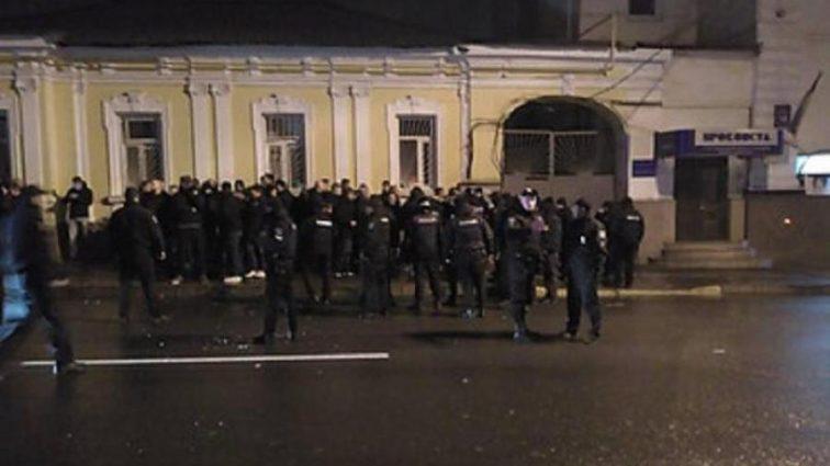 Перед матчем Шахтер — Фейеноорд полиция задержала 52 человека