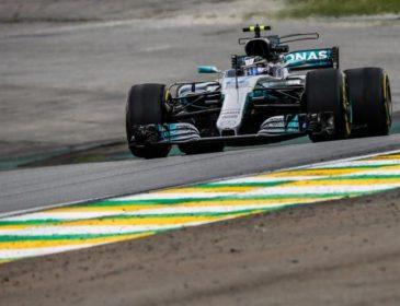 Формула-1: Пилот Мерседес показал лучшее время третьей практики Гран-при Бразилии