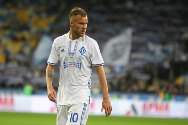 Ярмоленко попал в топ-5 атакующих игроков Бундеслиги