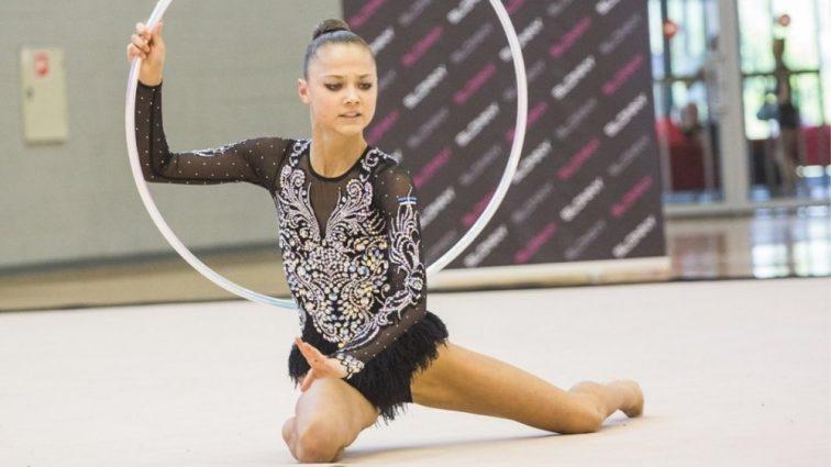 Эстонская гимнастка будет выступать за Украину