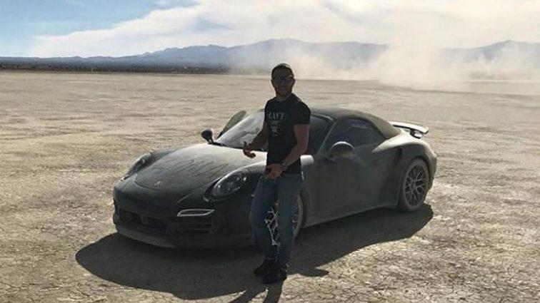 Ломаченко устроил гонки в пустыне