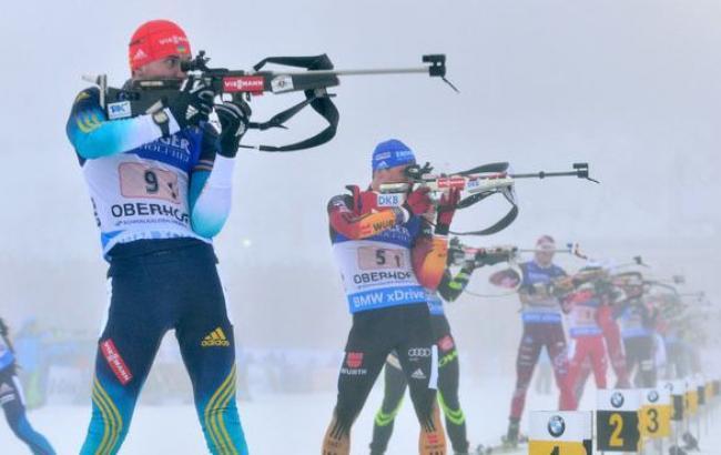 Стало известно, как украинские биатлонисты дебютировали на престижных соревнованиях